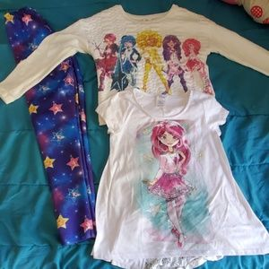 Disney Star Darlings 3 pc outfit size 11/12